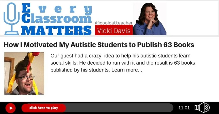 autistic students self publish
