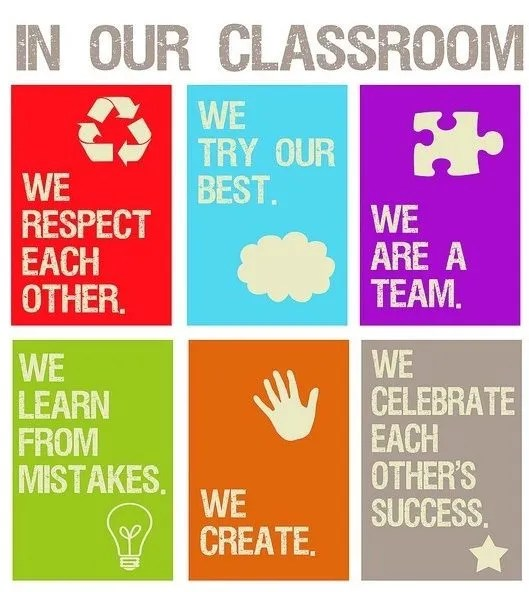 we are a team classroom