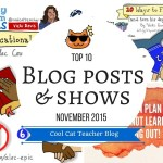 Top Blog Posts on the Cool Cat Teacher Blog