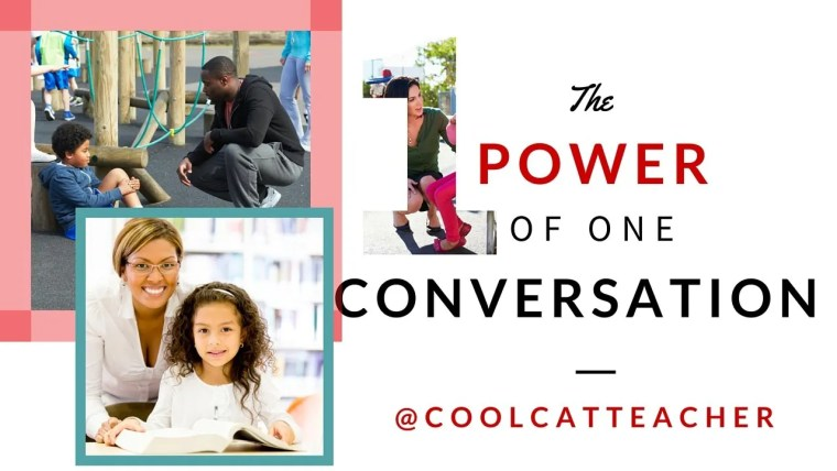 The power of one conversation