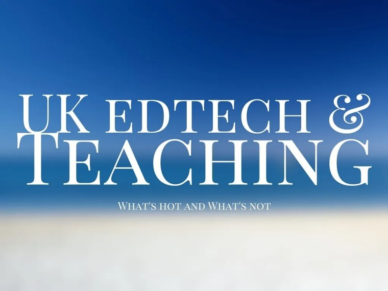 UK edtech & teaching