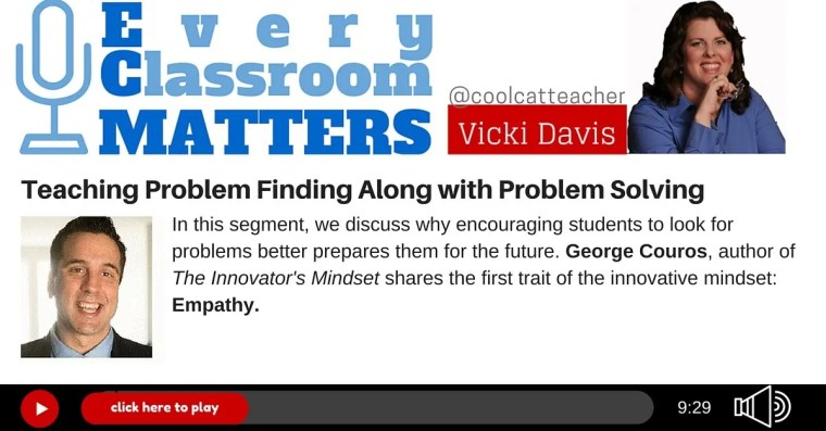 George Couros innovators mindset problem finding