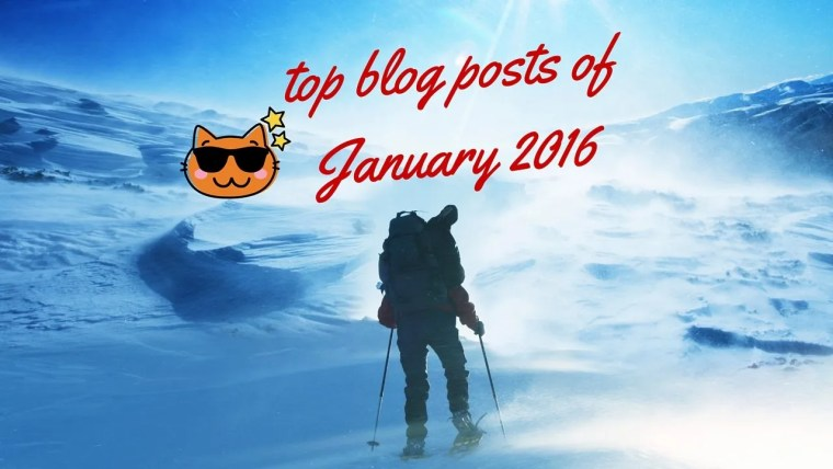 top blogposts of January 2016