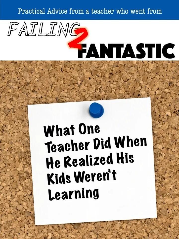 failing to fantastic