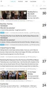 journal titles
