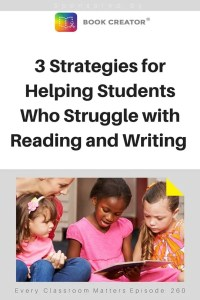 strategies for students who struggle with reading and writing
