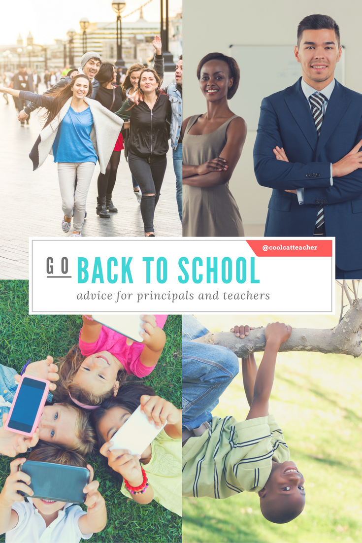 back to school advice for principals and teachers