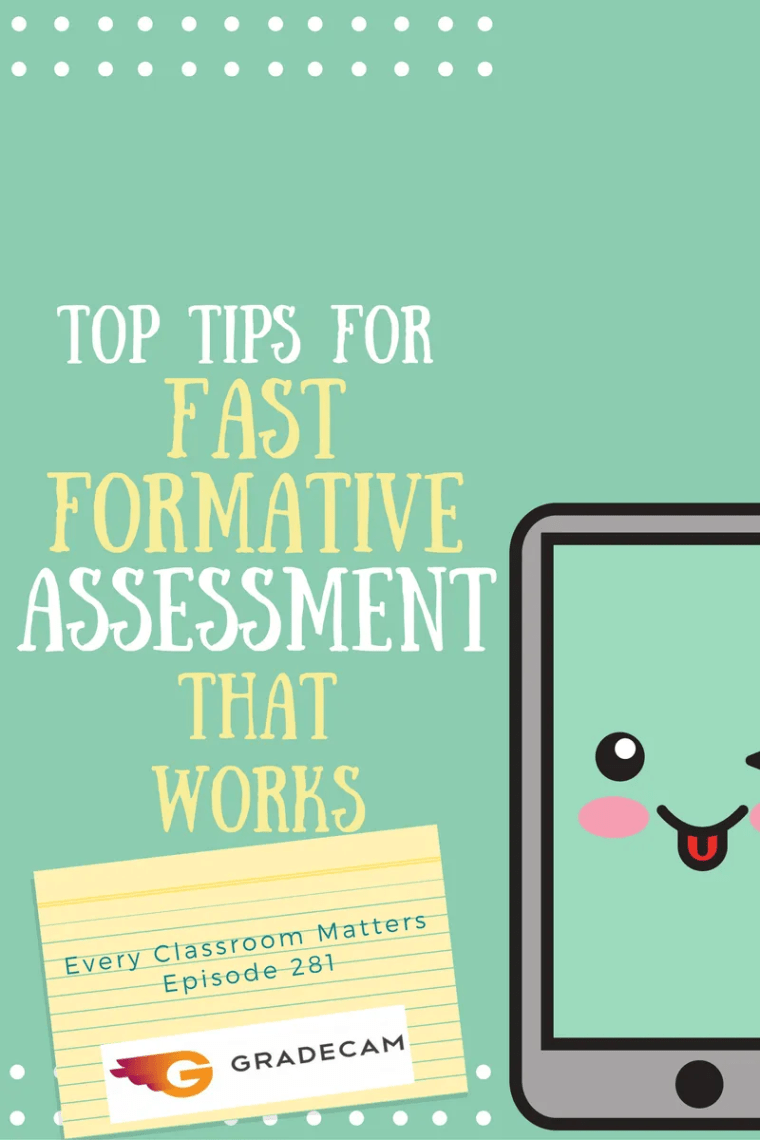 fast formative assessment that works