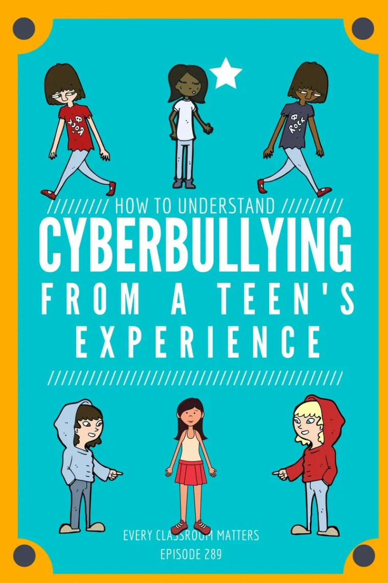 what cyberbullying looks like from a teen's perspective