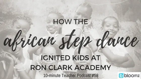 How step ignited kids at Ron Clark Academy