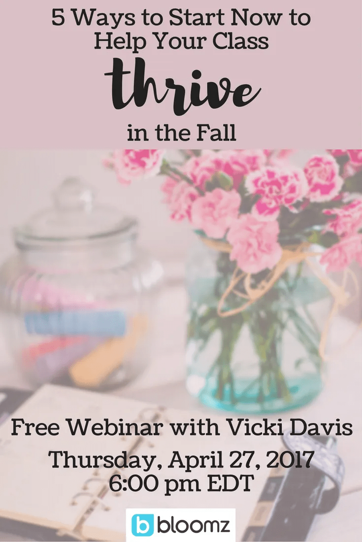 5 Ways to help your classroom thrive in the fall