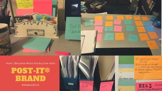 How I Became More Productive with Post-it® Brand