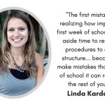 5 Mistakes Teachers Make the First Week of School with Linda Kardamis