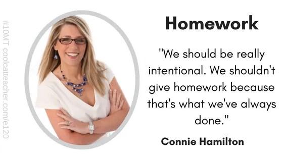 connie hamilton homework