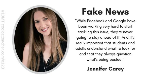 jennifer carey fake news