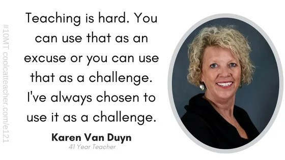 karen van duyn teacher