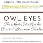 Owl Eyes: The Must-Get Web-App for Classical Literature Teachers
