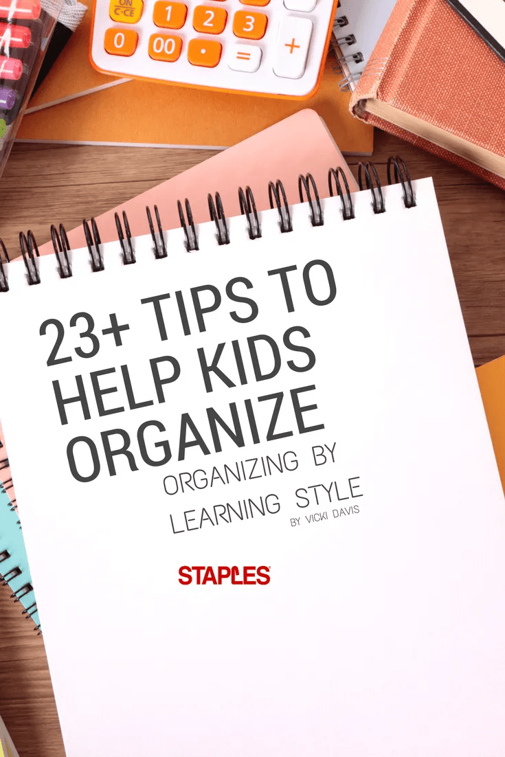 23+ Tips to help kids organize pinterest