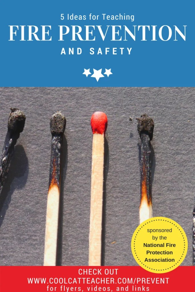 5 Ideas for Teaching Fire Prevention and Safety