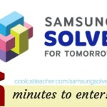 "The Samsung ""Solve for Tomorrow"" STEAM Program Wants You! Take Just 5 Minutes to Apply!"