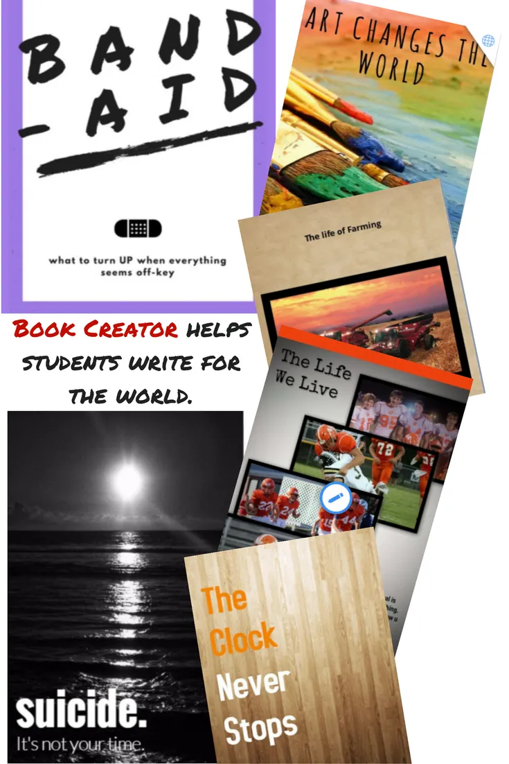 Book creator covers