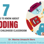 7 Things to Know About Coding in the Early Childhood Classroom