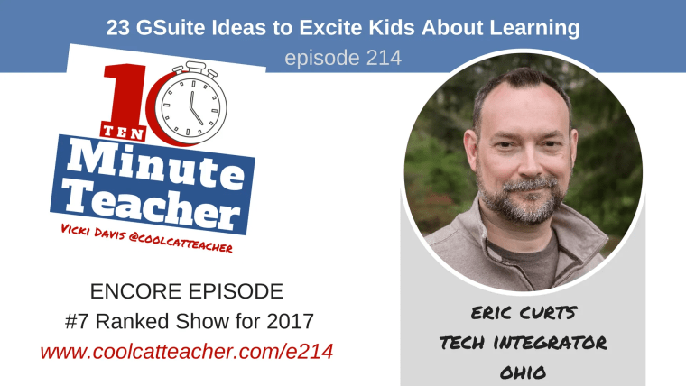 gsuite ideas to excite kids about learning