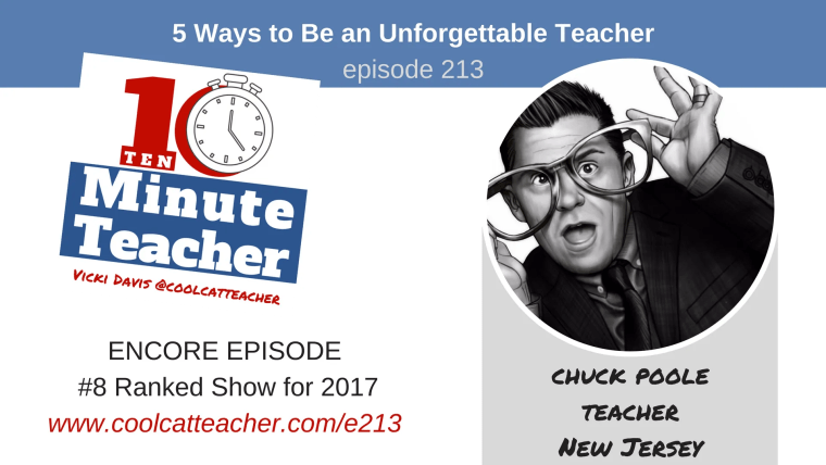 unforgettable teacher chuck poole