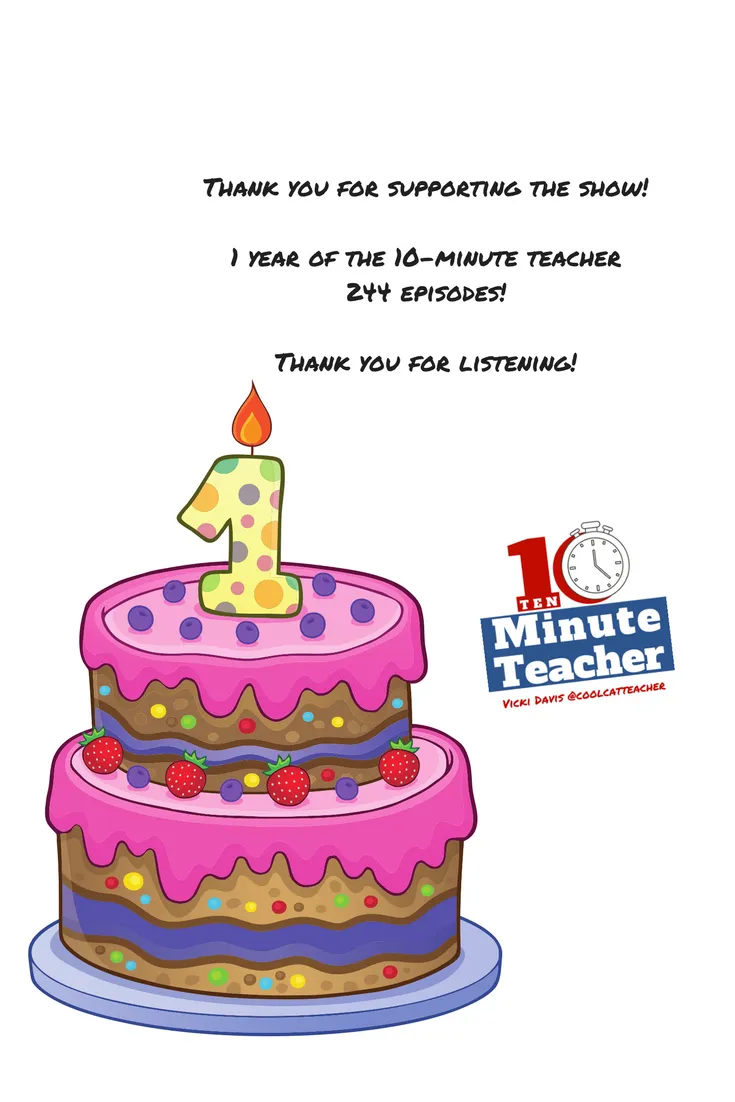 one year of the 10-Minute Teacher pinterest