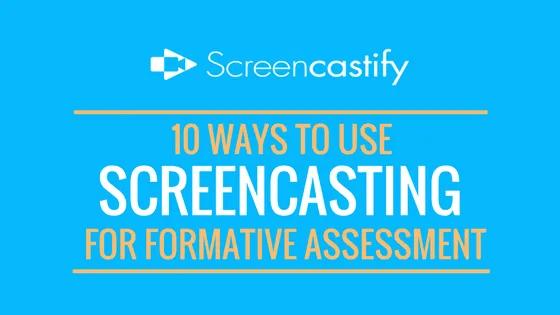 screencasting screencastify