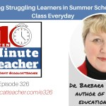 Motivating Struggling Learners in Summer School and in Class Everyday