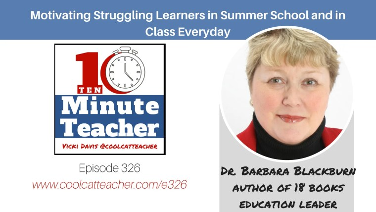 motivating struggling learners barbara blackburn