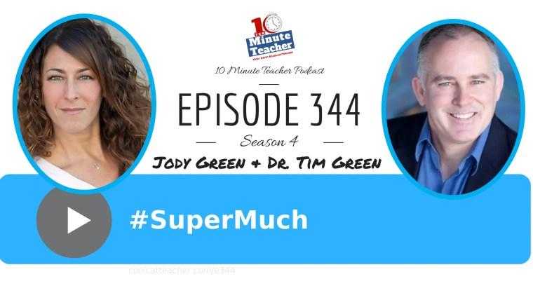 Jody and Tim Green #supermuch