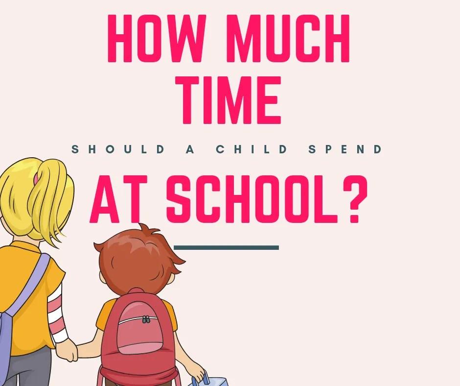 Elegant Child Spend At School