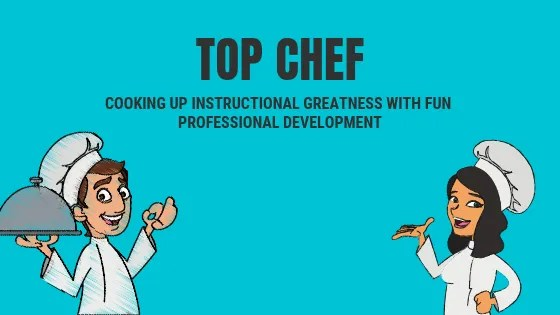 Top Chef professional development experience