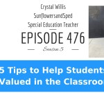 5 Tips to Help Students Feel Valued in the Classroom