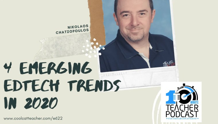 Nikolaos Chatzopoulos emerging edtech trends