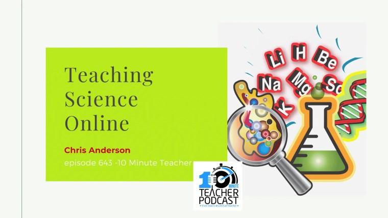teaching science online #elarning #covid19