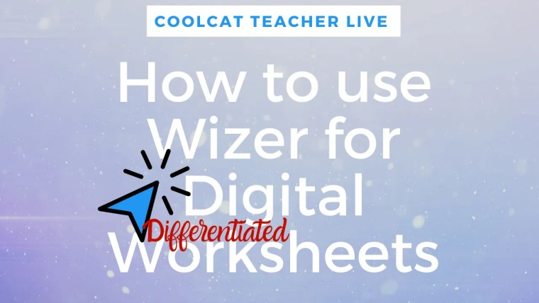 wizer digital worksheets