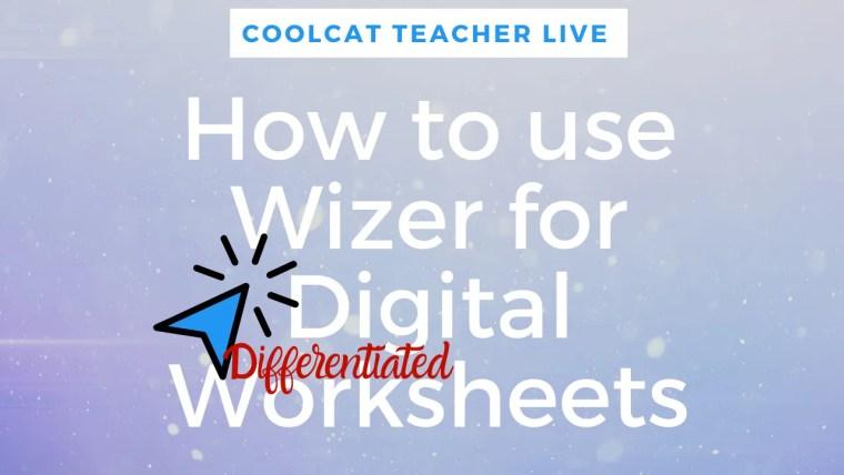 wizer digital worksheets