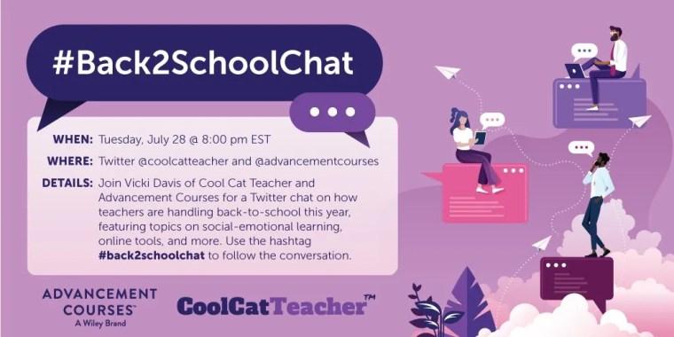#Back2SchoolChat