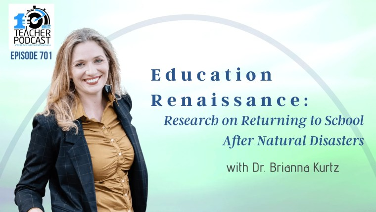 Education Renaissance: Research on Returning to School After Natural Disasters