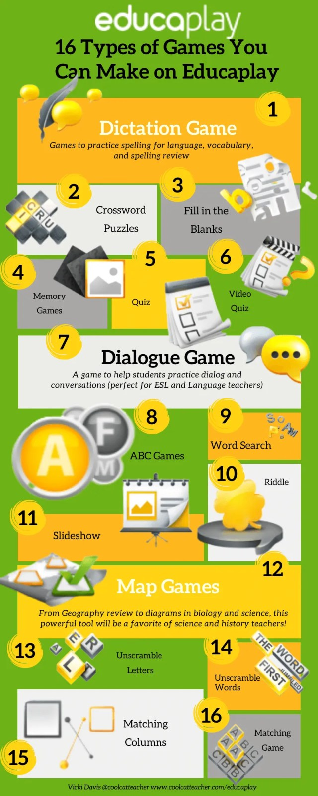 16 ways to make classroom games with educaplay