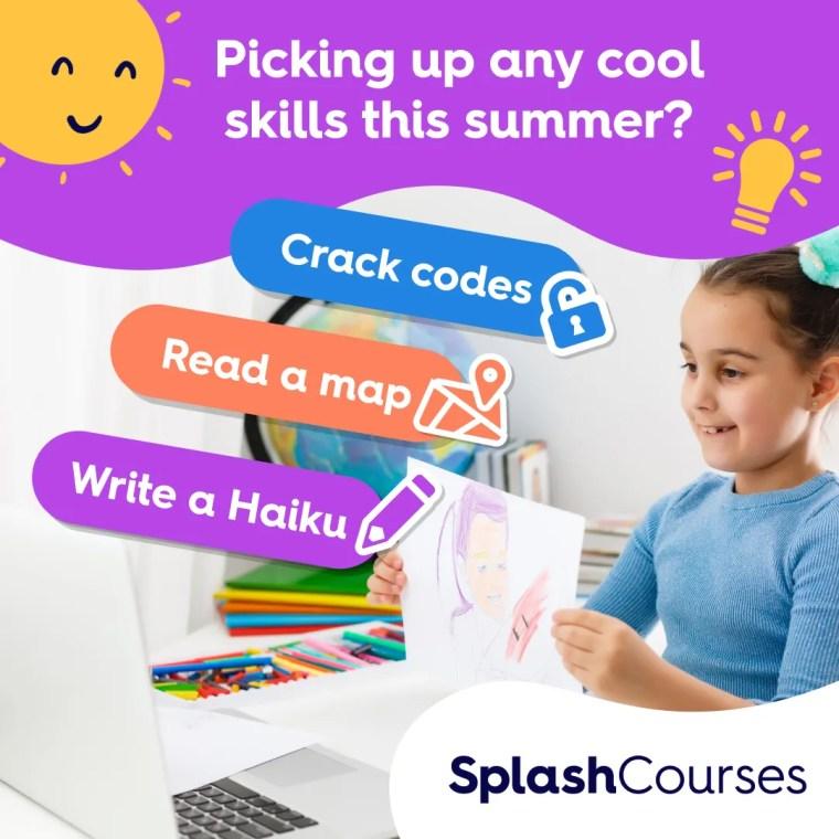 SplashLearn for summer learning