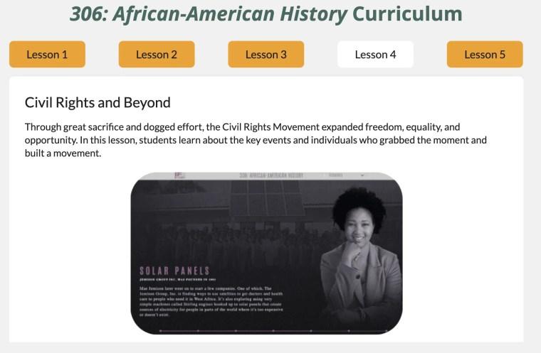 cultural literacy civil rights
