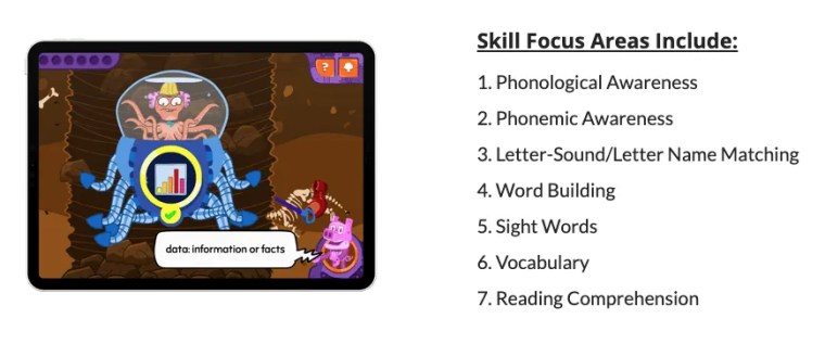 early literacy word force