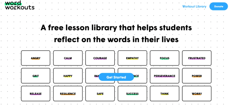 WORD Workouts Social emotional learning
