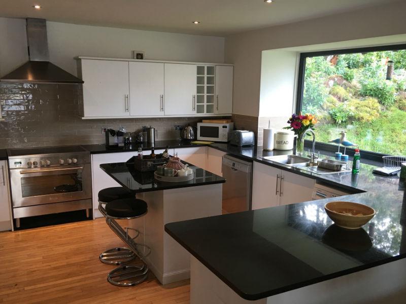 Torridon boathouse for Luxury kitchens scotland