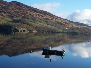 Loch Carron boat