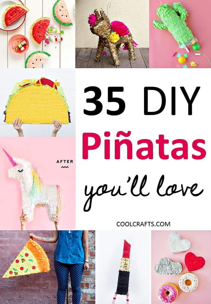 35 DIY Piata Ideas That Will Start Any Party